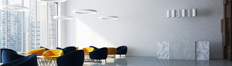 Warteraum mit Beleuchtung lumextra